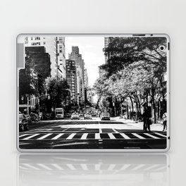 New York City Streets Contrast Laptop & iPad Skin