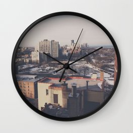 North Chicago Wall Clock