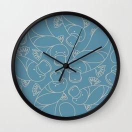 Minimalist Platypus Wall Clock