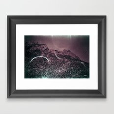 arc Framed Art Print