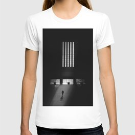 black white photo T-shirt