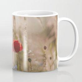 Poppy in sunrise my world Coffee Mug