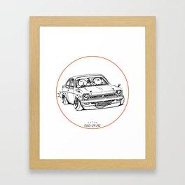 Crazy Car Art 0189 Framed Art Print