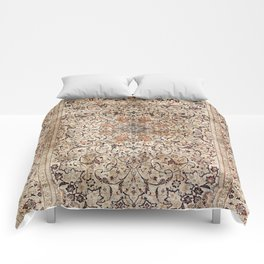 Silk Esfahan Persian Carpet Print Comforters