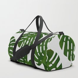 Monstera Leaf III Duffle Bag