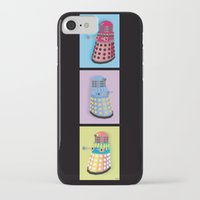 dalek iPhone & iPod Cases featuring Dalek Dreams by Megs stuff...