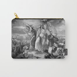 Outbreak Of Rebellion In The United States 1861 Carry-All Pouch
