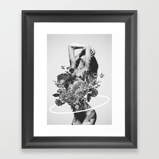 Be slowly framed art print by daniel taylor society6 for Where to buy framed art