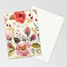 Floral Theme Stationery Cards
