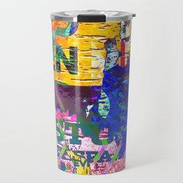 Tropical Pop Art Painting Travel Mug