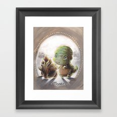 Tinysaurs Framed Art Print