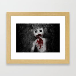 Smallest Zombie Framed Art Print