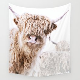 HIGHLAND CATTLE LULU Wall Tapestry