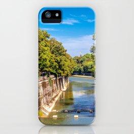 DE - Bavaria : Isar canal iPhone Case