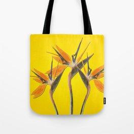 strelitzia - Bird of Paradise Flowers II Tote Bag