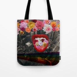 Flower  Vomit Tote Bag