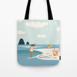 Wave Sisters Tote Bag