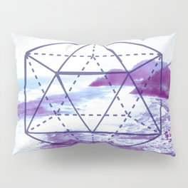 The Elements Geometric Nature Element of Water Pillow Sham