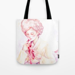 Year of the Rooster - Zodiac & Hanbok Tote Bag
