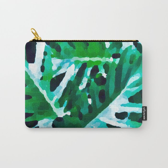 Leaves exotic Carry-All Pouch