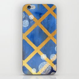 first comes winter iPhone Skin