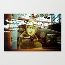 The History of a Pilot Canvas Print