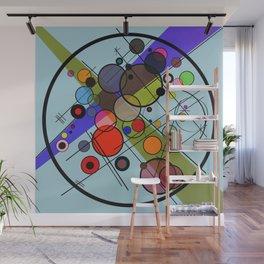 Circles 2 Wall Mural