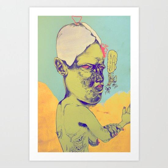 c-c-c-combo breaker Art Print