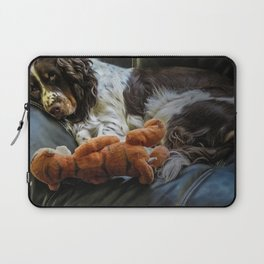Flame and Her Friend Laptop Sleeve