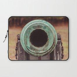 Rifled Cannon Muzzle Manassas National Battlefield Park Virginia Laptop Sleeve