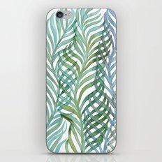 Watercolor Ferns iPhone & iPod Skin