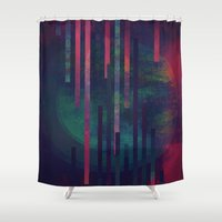 sound Shower Curtains featuring Sound by DuckyB