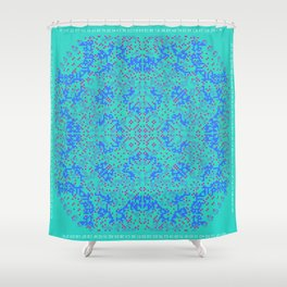 "CA Fantasy ""For Tiffany color"" series #10 Shower Curtain"