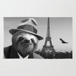 Gentleman Sloth in Paris Rug