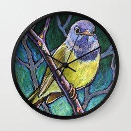 Connecticut Warbler Wall Clock