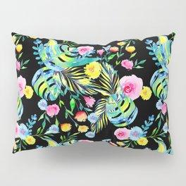 Black Summer Pillow Sham