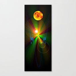 Light show 3 Canvas Print