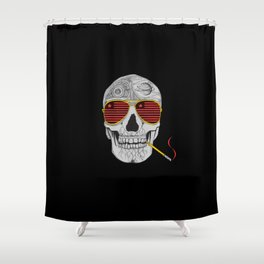 GONZO SKULL Shower Curtain