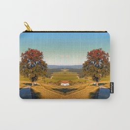 Roadside tree in indian summer colors | landscape photography Carry-All Pouch