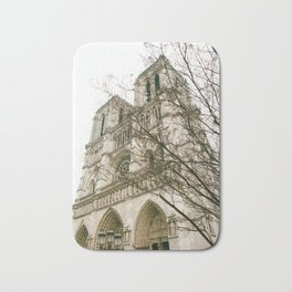 Notre Dame Cathedral - 35mm film Bath Mat