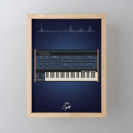 The Synth Project - Oberheim OB-XA Framed Mini Art Print