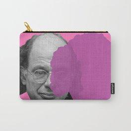 Allen Ginsberg - pop pink purple Carry-All Pouch
