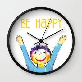 Litlle boy Wall Clock