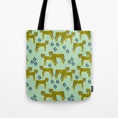 Cheetah safari nursery kids animal nature pattern print gifts Tote Bag