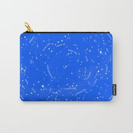 Constellation Map - Blue Carry-All Pouch