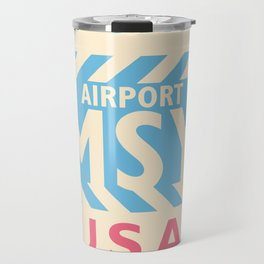 MSY New Orleans airport code design 150921 Travel Mug