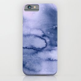 inkblot pastels 1 iPhone Case