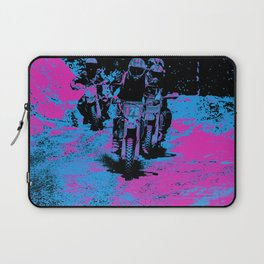 """Born to Race"" Motocross Dirt-Bike Champion Racer Laptop Sleeve"