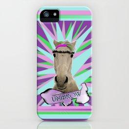 Unibrow iPhone Case