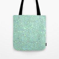 Tote Bags featuring Wacky Pattern by Josh LaFayette